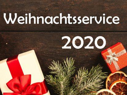 Weihnachtsservice 2020